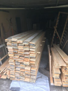1x6 pine v-joint T&G $0.69 per linear foot
