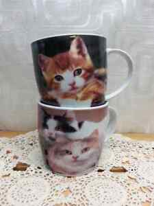 Cat Mugs (set of 2)