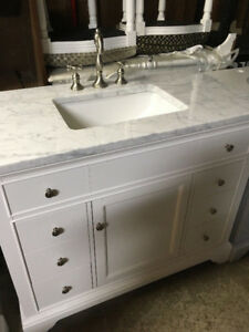 "Framingham 42"" Vanity, Counter top, Faucet, Sink"