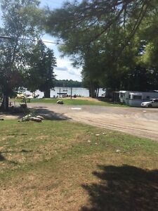 WHITE LAKE DOUBLE WIDE WATER VIEW SITE!!!