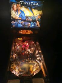 "Sega"" twister"" pinball machine"