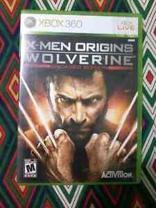 Xbox 360 X-men origins wolverine uncaged edition