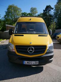 Mercedes sprinter 313 cdi off-grid campervan -