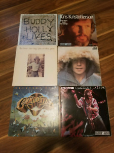 Various vinyl records 2 for 5$