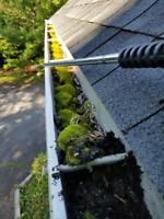 Dirty Eaves Gutters Siding & Decks WE POWERWASH CLEAN NOW
