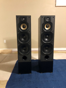Mint condition Paradigm surround speaker package