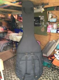 Full size double bass case.