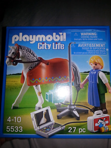 Playmobil, play mobil, city life