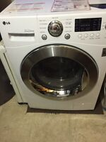 LG 2 in 1 washer/dryer LESS THAN 1 YEAR OLD!!