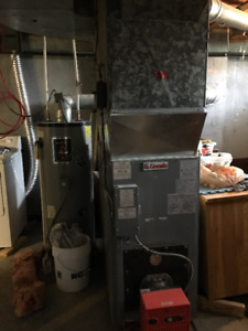 Lincoln Furnace for sale - forced hot air