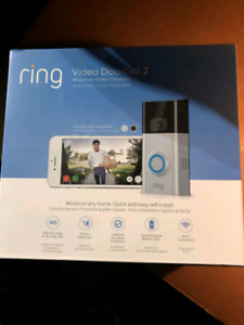 Brand new sealed ring video doorbell 2