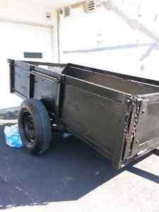 petit trailer pour vtt 3' x 5'7'' (en fer)