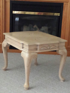 Side Table or Accent Table ... Wooden .. Very strong and sturdy