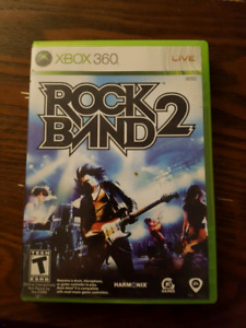 Rock band 2 for Xbox 360