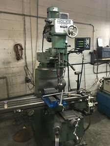 Holke Knee Type Milling Machine