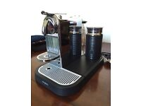 Nespresso Citiz Chrome Magimix Maker with Aeroccino Milk Frother STILL AVAILABLE