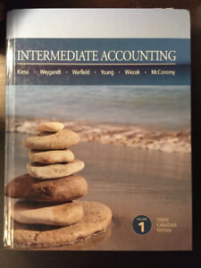 Intermediate Accounting Tenth Canadian Edition (Volume I & II)
