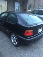 1999 bmw ti for parts  mags 17 motor trans  ok