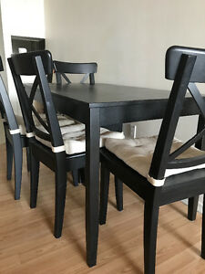 IKEA dinning room set / dinning room table and chairs