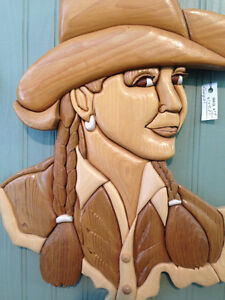 Cowgirl by Woodworker Willie Kingston Kingston Area image 3