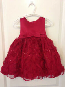 beautiful 2T toddler red dress
