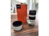 Sony 70-200 F4 Zeiss lens G OSS