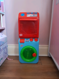 Chad valley toy washing machine and dish washer role play pretend