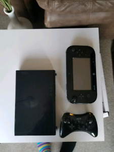32GB WII U WITH GAMES