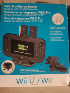 Wii and Wii U accessories and games