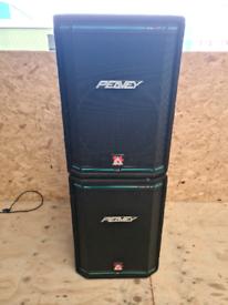 Peavey hisys 2xt mid top speakers