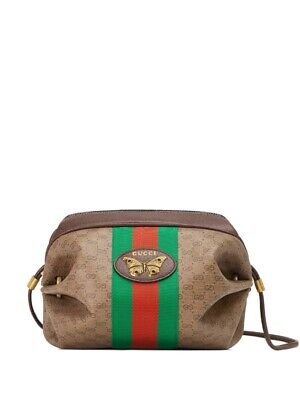 Gucci Gucci Mini Gg Bag With Web And Butterfly 1350$
