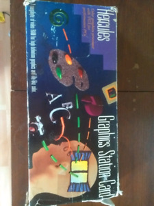 Vintage Hercules Graphics Station Card