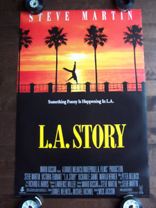 L.A. STORY original movie theater poster