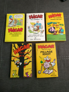 Hagar the Horrible Comic Digest lot $2 total you get all 5 books