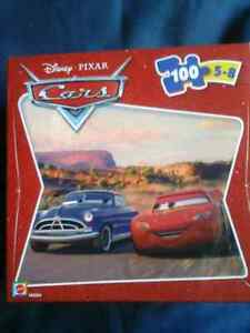 Disney Pixar Cars 100 Piece Puzzle Peterborough Peterborough Area image 1
