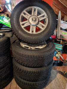Ford Explorer/Mountaineer Winter Tires and Wheels