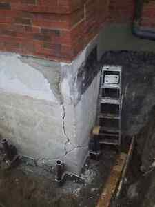 Leaky basement / Drainage solutions / Waterproofing London Ontario image 2