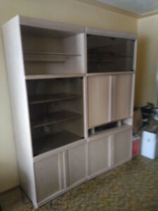 Entertainment Units with lots of Storage!