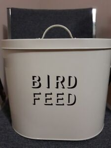 Decorative Bird Seed Container