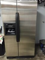 Kenmore Stainless Steel Fridge w water/ice dispenser