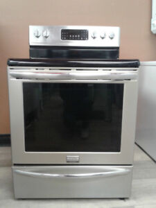 STOVE FRIGIDAIRE convection STAINLESS S GLASS TOP