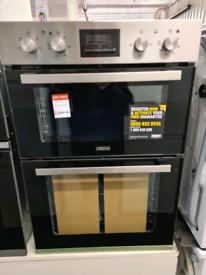 Brand New Zanussi ZOA35660XK Electric Built-in Double Oven