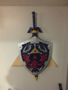 Master Sword Link legend of zelda