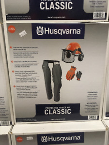 Husqvarna Chainsaw Safety Gear Sale - Kits - Specials