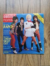 """Rare punk 7"""" single. Raped - Cheap night out"""