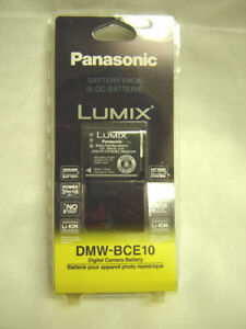 NEW Genuine Panasonic Digital Camera Battery - DMW-BCE10