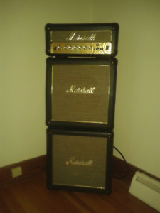 marshall mini stack guitar amp 15 watt head