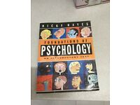 Nicky Hayes, foundations of psychology second hand book