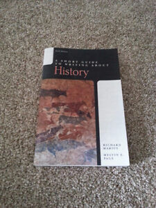 A Short Guide to Writing about History, 6e [TEXTBOOK]