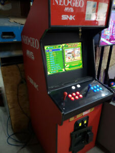 645 Arcade Games in 1 inside neo geo cab 22 inch LED coin op